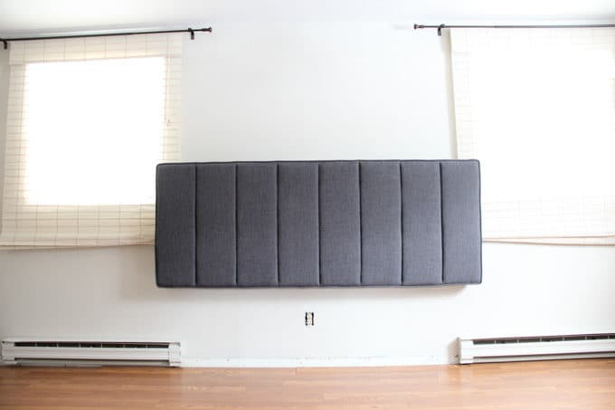 how to wall mount a headboard