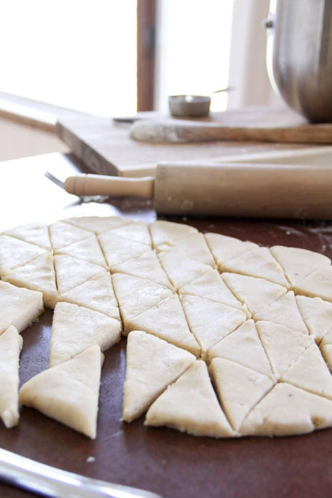 Recipe for Vanilla Bean Scones