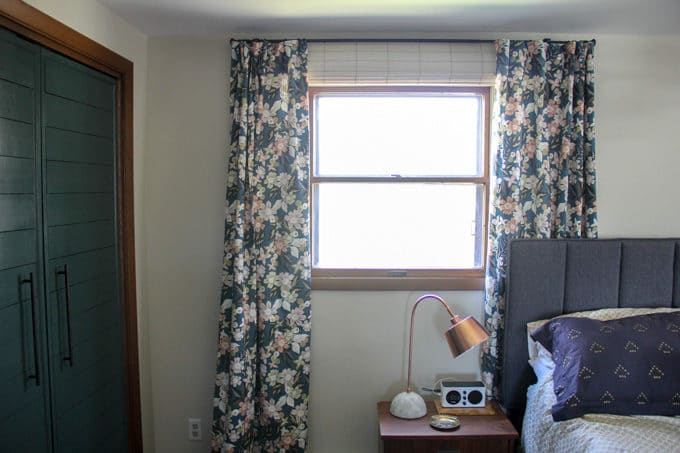 Modern Floral Curtains