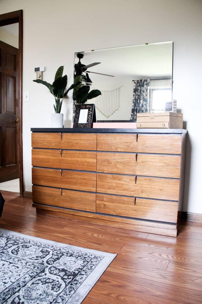 Vintage Wood Two Tone Dresser