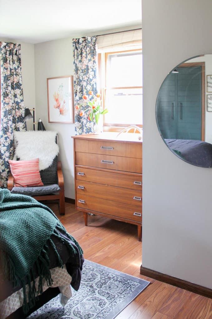 Vintage Modern Master Bedroom