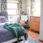 Modern Dark Vintage Modern Master Bedroom