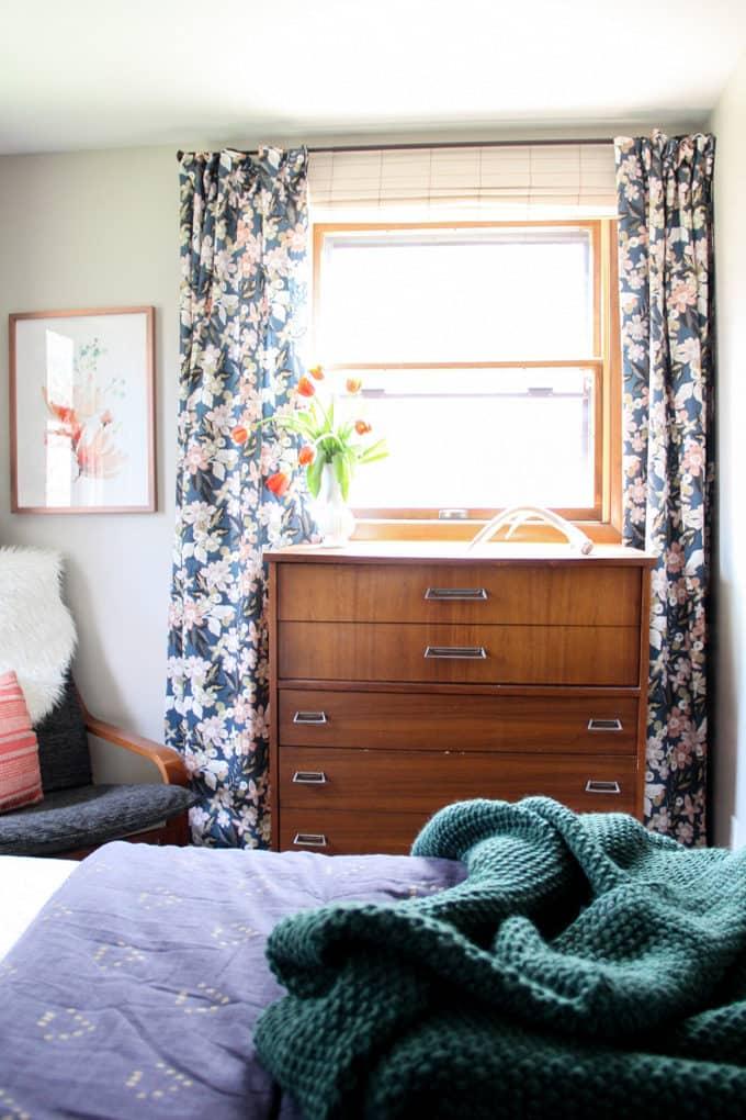 Mid Century Furniture in Modern Bedroom
