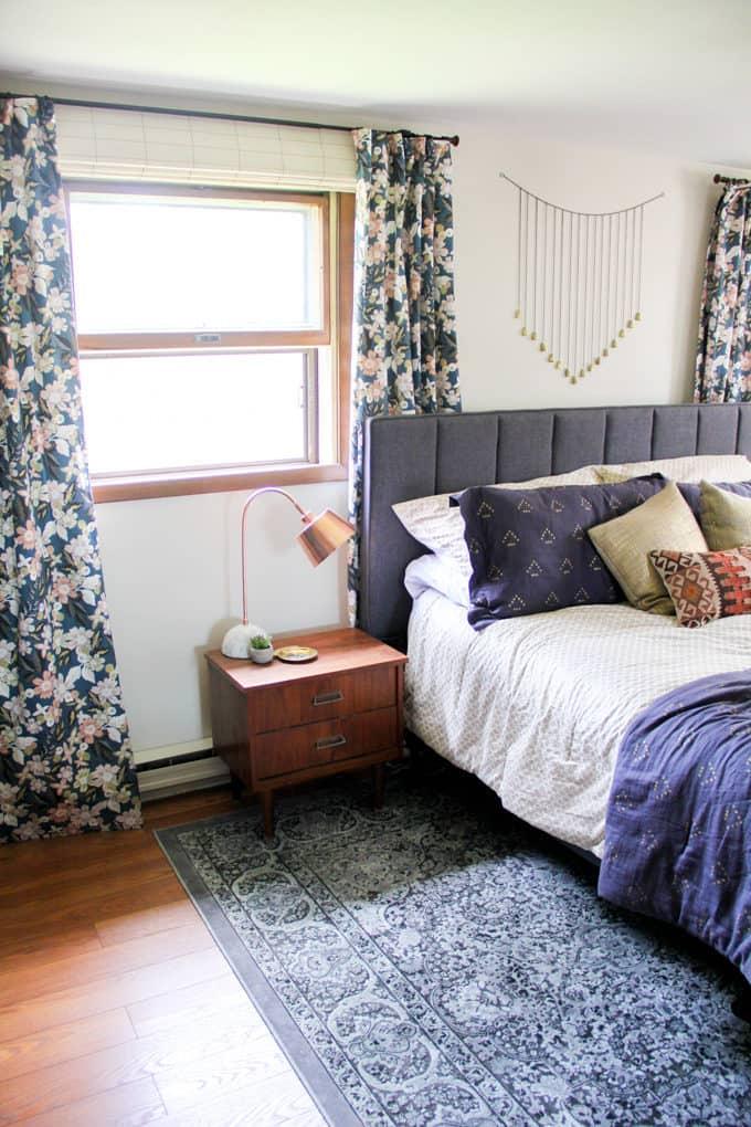 Modern Floral Master Bedroom-9