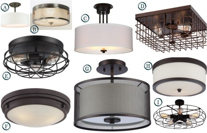 Flush Mount Lighting Under $100