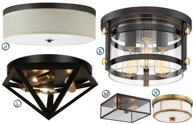 Flush Mount Lighting Under $150