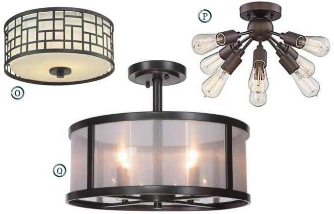 Flush Mount Lighting Under $200