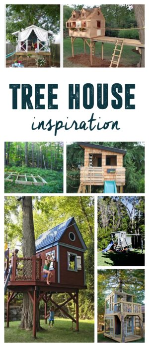 DIY Tree House Inspiration