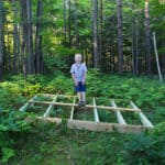 DIY Treehouse Platform
