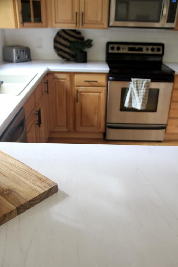 Faux Marble Countertops