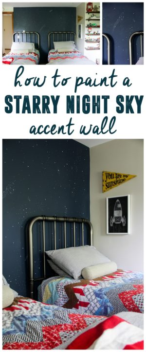 Night Sky Accent Wall