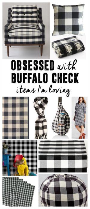 Buffalo Check Plaid Items I'm Loving
