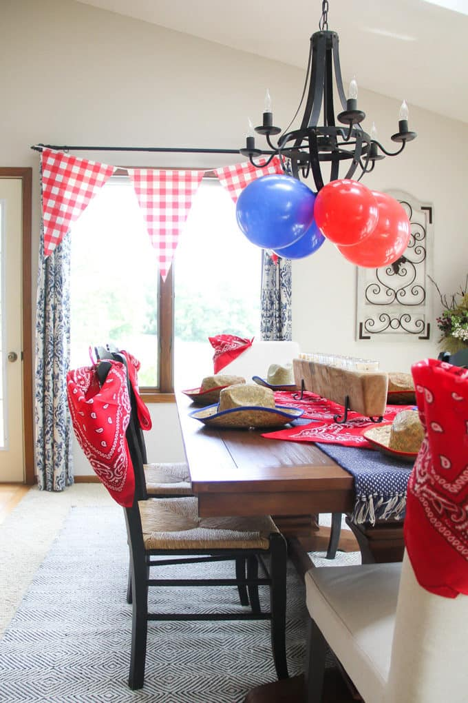 Farm Birthday Party Decor