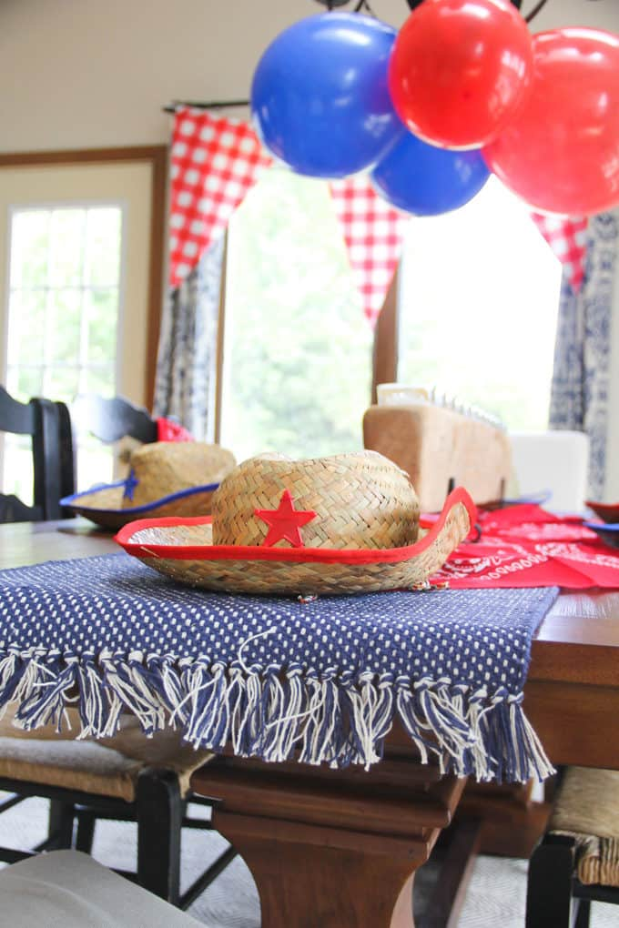 Farm and Cowboy Birthday Party