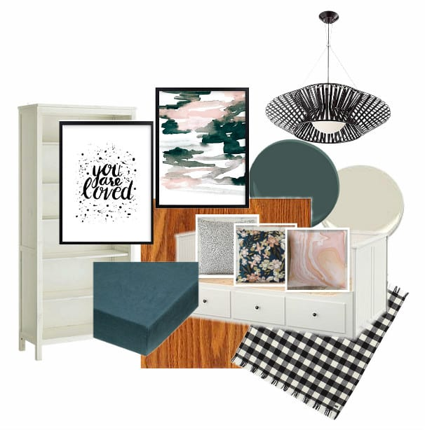 Reading Nook Mood Board
