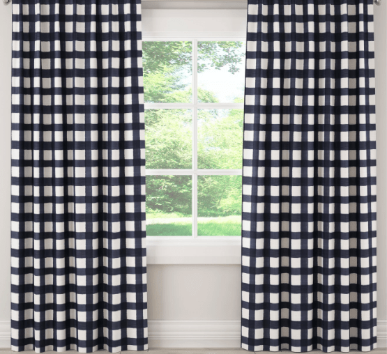 Buffalo Check Curtains