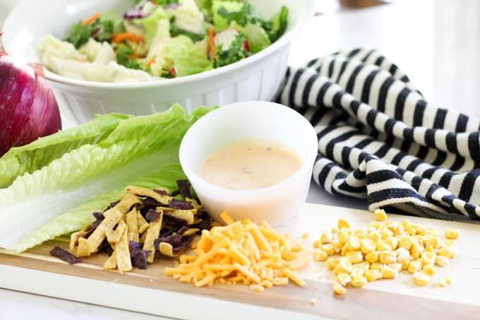 Eat Smart Salad with Pork