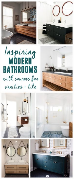 Modern Bathroom Choices