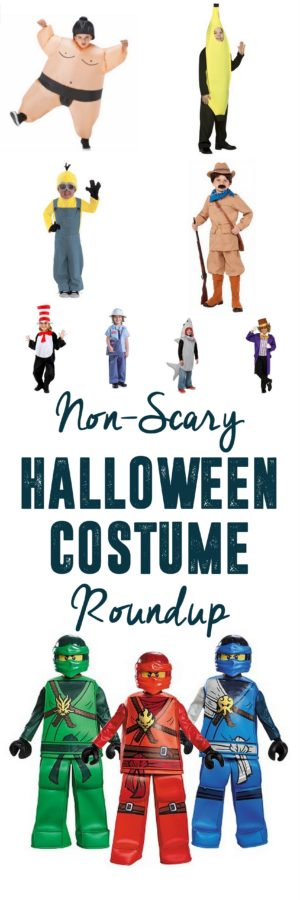 Non-Scary Halloween Costumes