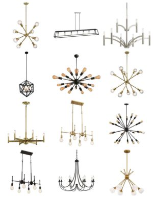 Modern Statement Chandeliers