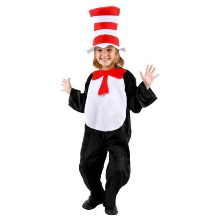 Non-Scary Costume Cat in the Hat