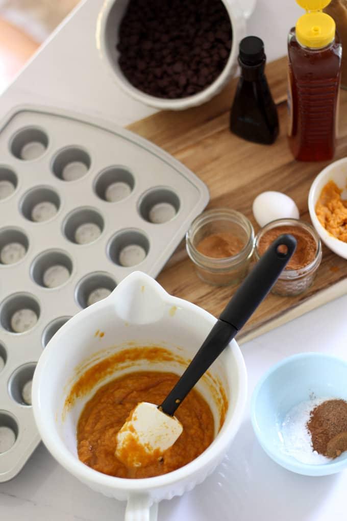 Oatmeal, Pumpkin, Honey Muffins