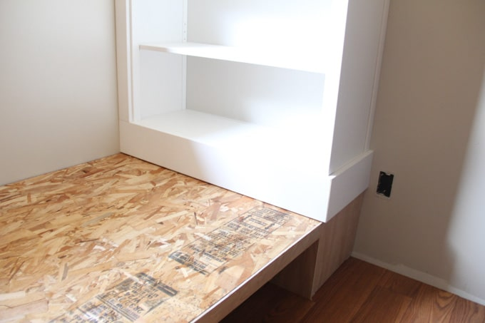 How to Build a Daybed with Bookshelves