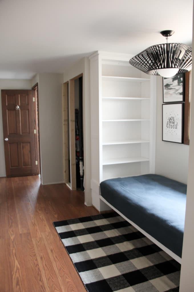 Built Ins in Hallway