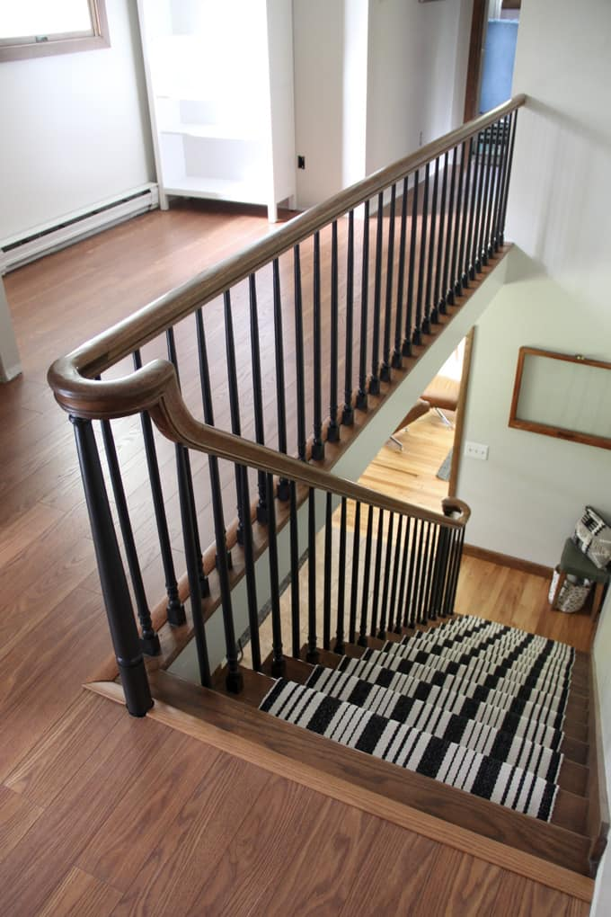 Painted Staircase Spindles