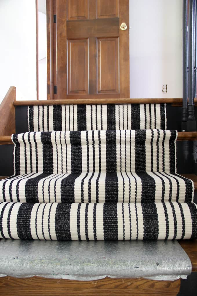 How to Install a Carpet Stair Runner