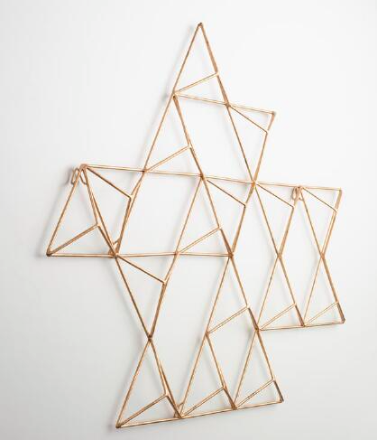 World Market Jaxon Metal Geometric Art
