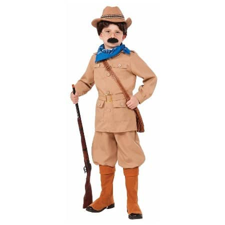 Non-Scary Costume Theodore Roosevelt