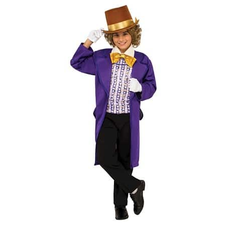 Non-Scary Costume Willy Wonka