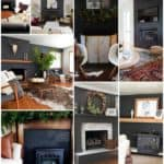 Black Painted Fireplaces