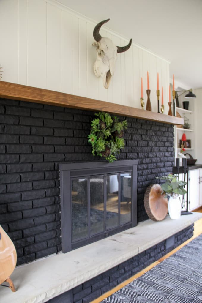 Bold Black Fireplaces