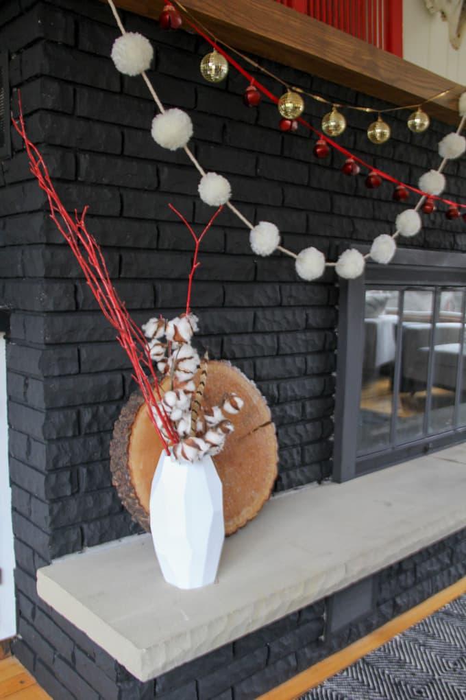 Hobby Lobby Christmas Mantel