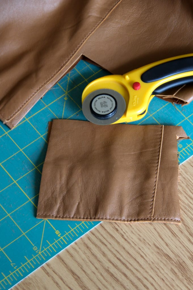 Cut up a Leather Coat