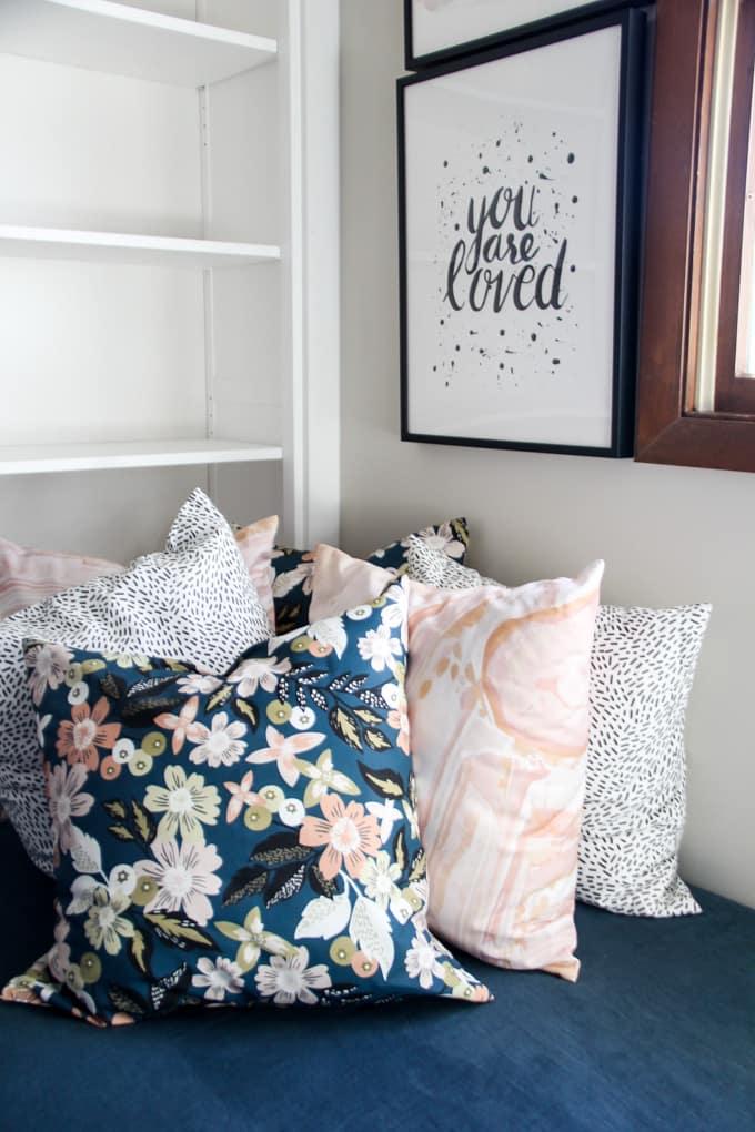 Modern Pillows and Art
