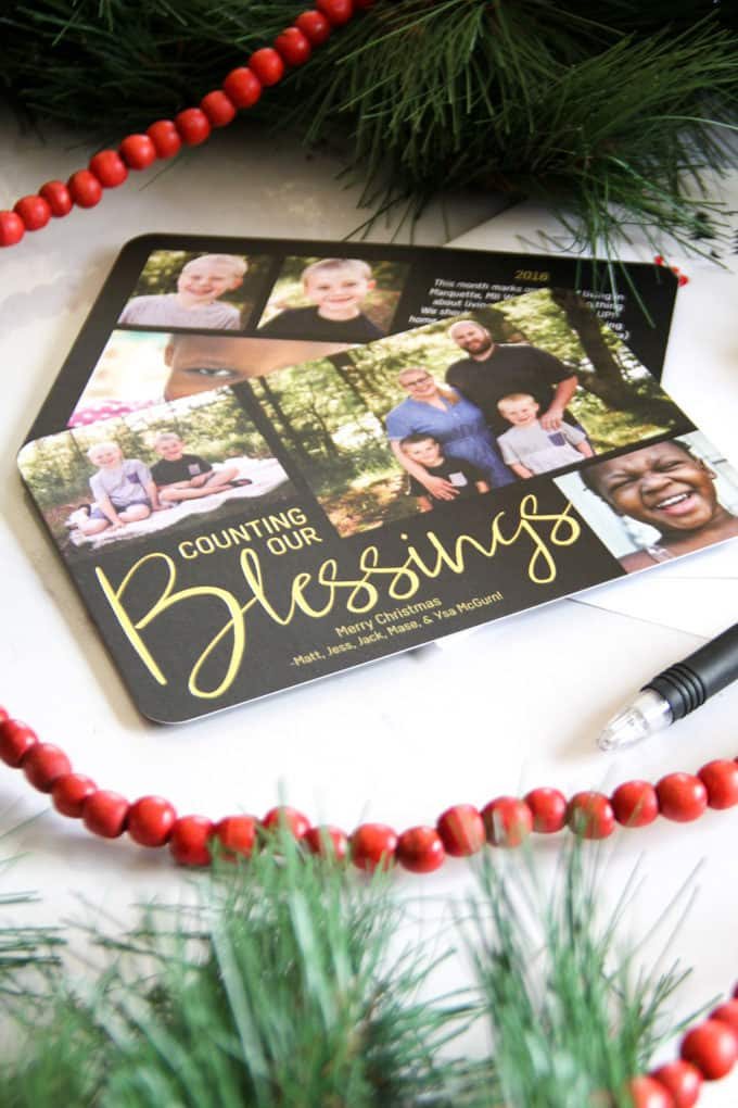 Creating Joy-Filled Christmas Cards