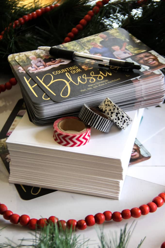 Tips for Joy Filled Christmas Card Giving