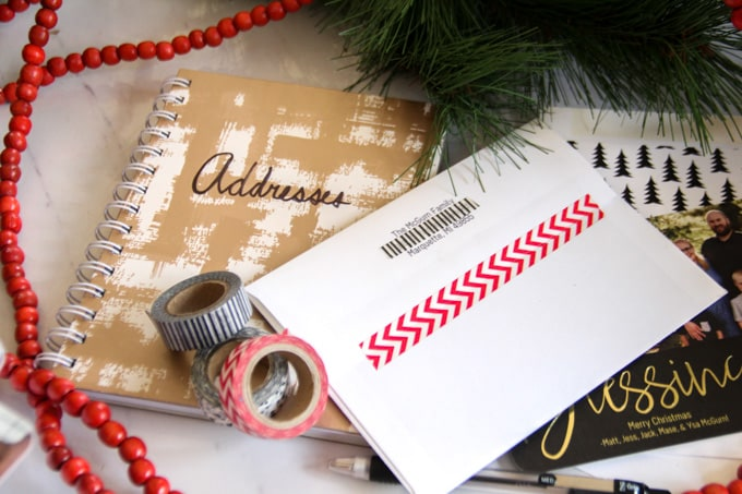 How to Seal Envelopes with Washi Tape