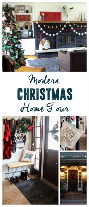 Modern Christmas Home Tour