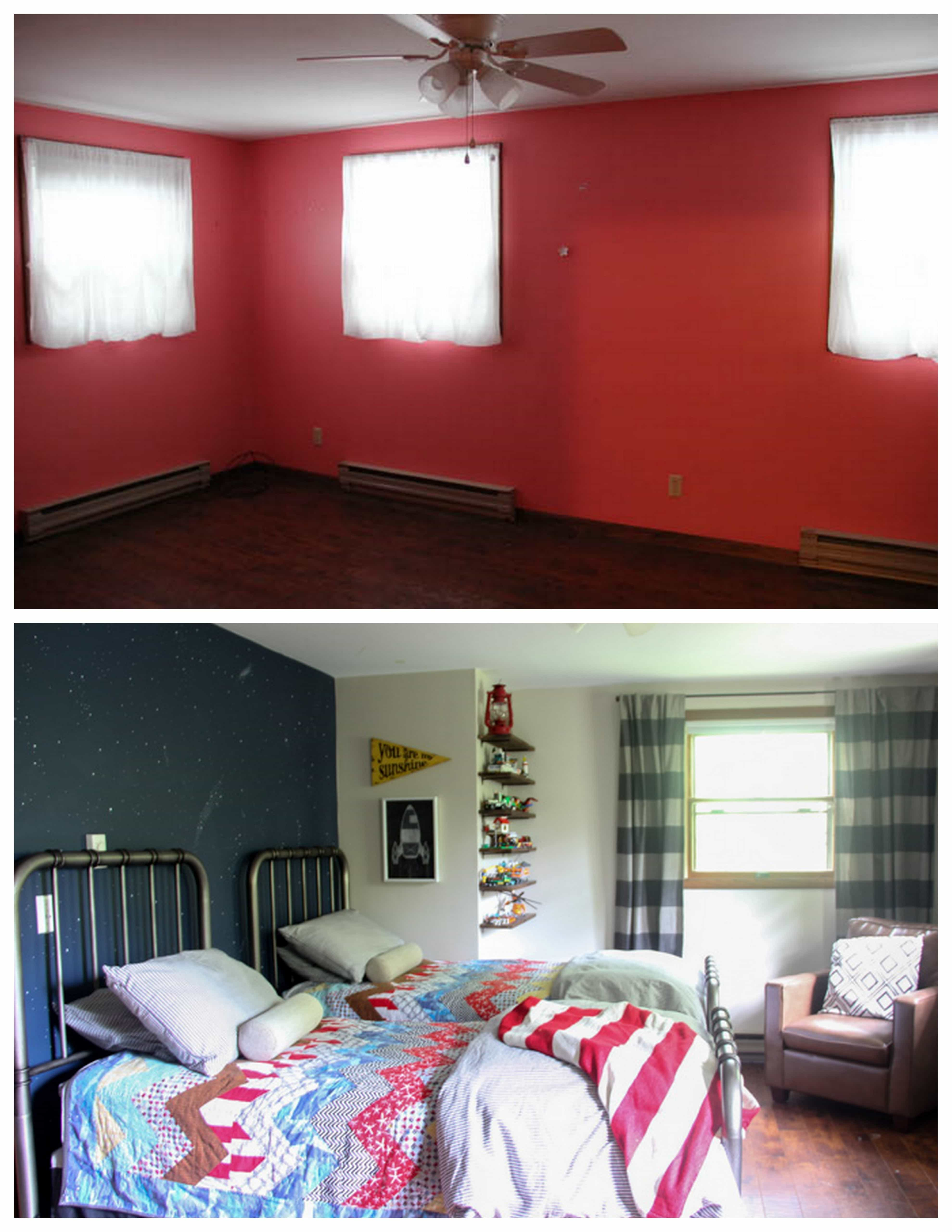 Kids Bedroom Before and After