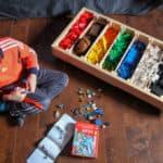 DIY Rolling Lego Storage