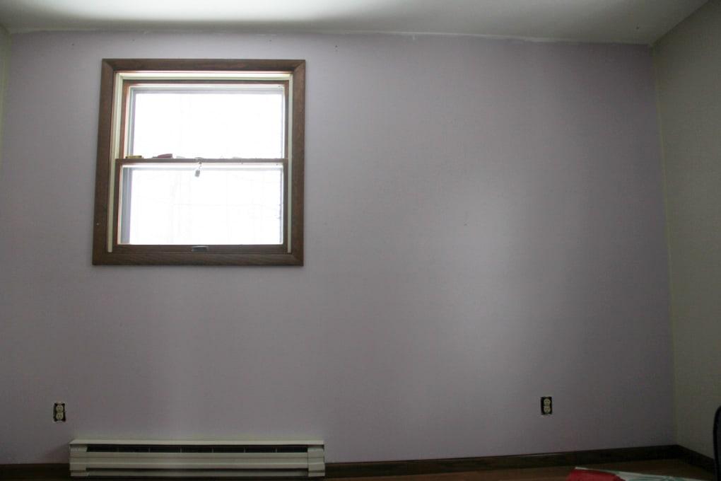 Wallpaper Wall Before