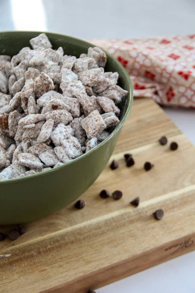 One of our Christmas Favorites- Puppy Chow Recipe