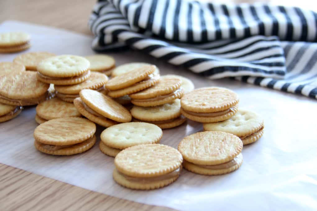 Ritz and Peanut Butter Cookies