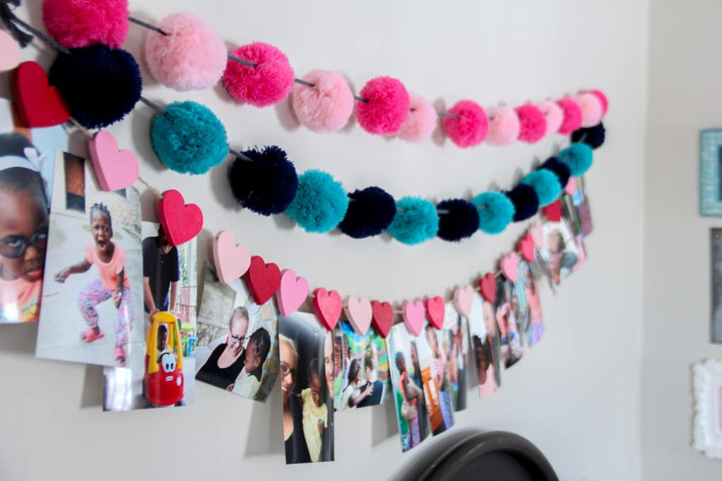 Girl Bedroom Hanging Buntings