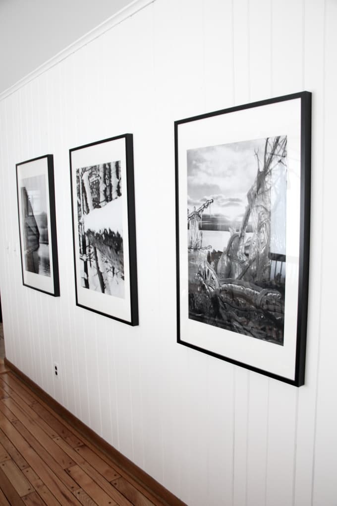 Modern Winter Art Prints