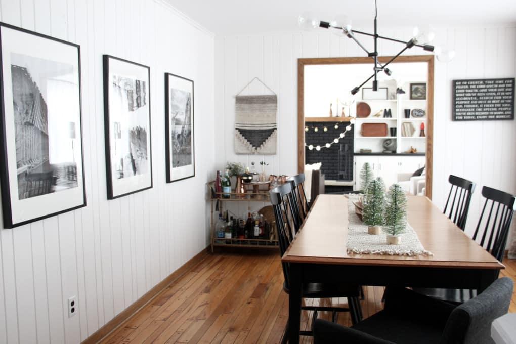 Winter Modern Dining Room